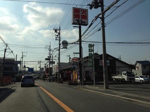 2013年1月21日の東大阪クイズ ここどこかわかりますか?