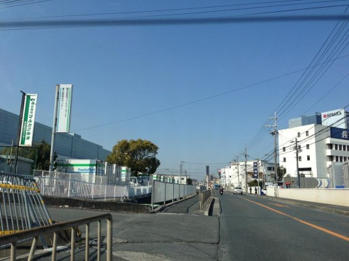 2013年1月30日の東大阪クイズ ここどこかわかりますか?