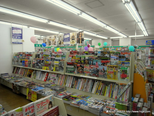 品揃えがよく、とても本を選びやすい店内