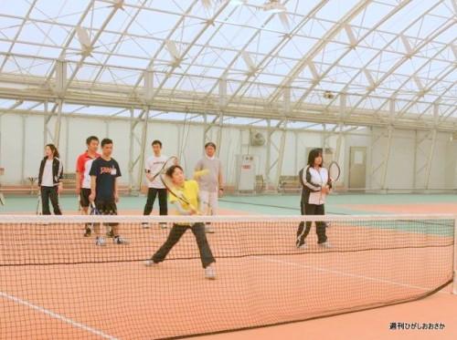 テニスをしながらコンパ!