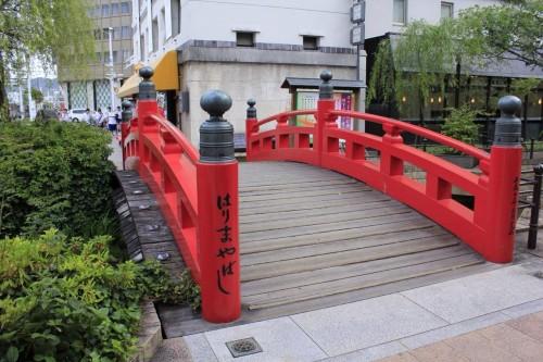最初は「はりやま橋」だと思いなんて痛そうな橋なんだ!と思っていたのは内緒です