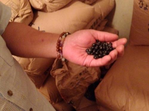 大豆や黒豆、いろんな種類の豆をつかっているのだそう