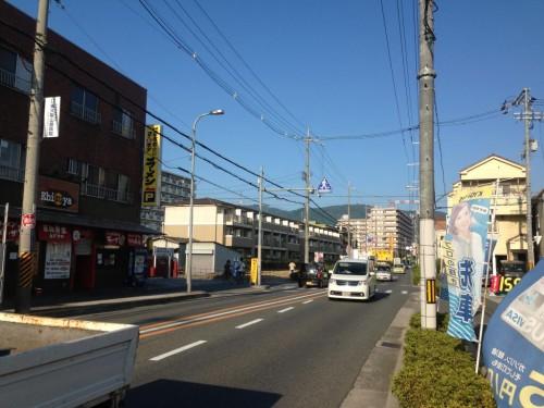 2013年8月14日の東大阪クイズ ここどこかわかりますか?
