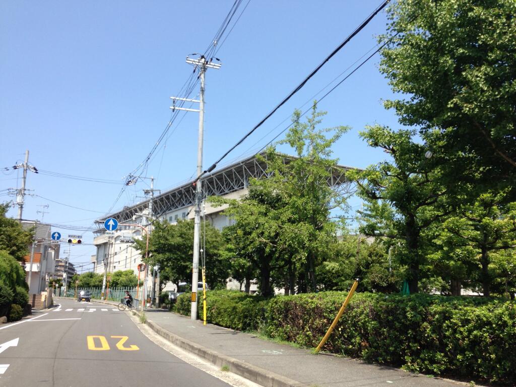 2013年8月15日の東大阪クイズ ここどこかわかりますか?
