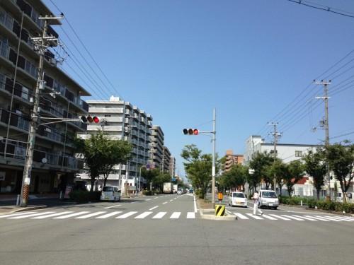 2013年8月16日の東大阪クイズ ここどこかわかりますか?