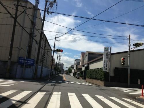 2013年8月20日の東大阪クイズ ここどこかわかりますか?