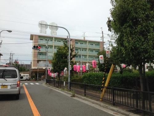 2013年8月23日の東大阪クイズ ここどこかわかりますか?