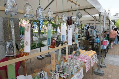 河内風鈴は、「東大阪物産観光まちづくりセンター まいど!東大阪」のブースで売っていました。