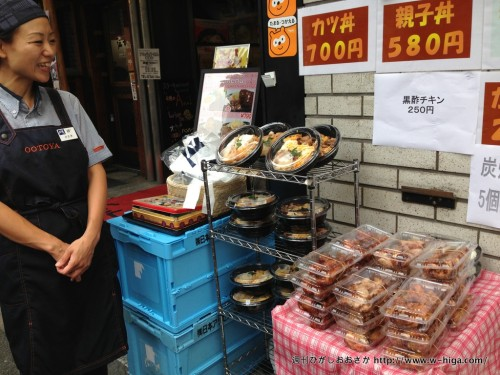 カツ丼や親子丼も販売されています。勝つ丼とは書いていません。さすが東京。
