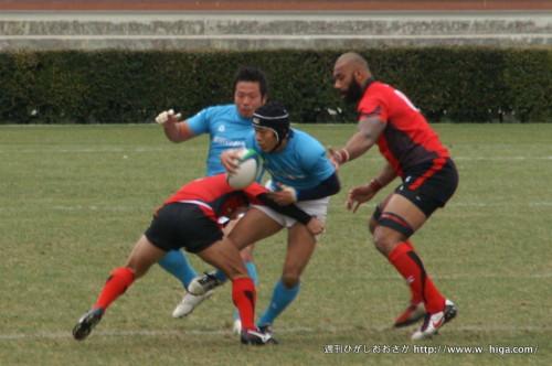 昨年トップリーグに再昇格した豊田自動織機(青いジャージ)。