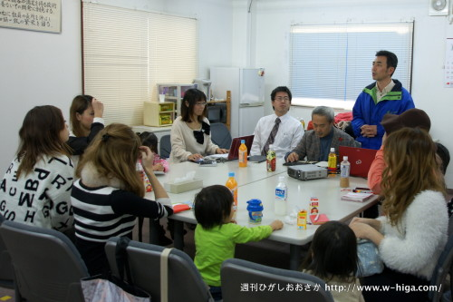 ギャルママ商品開発部の会議は、子どもも参加OK