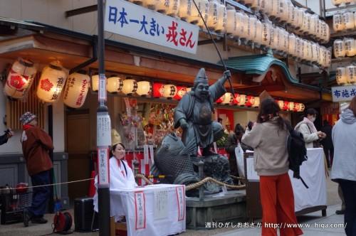 日本一大きいえべっさんの像