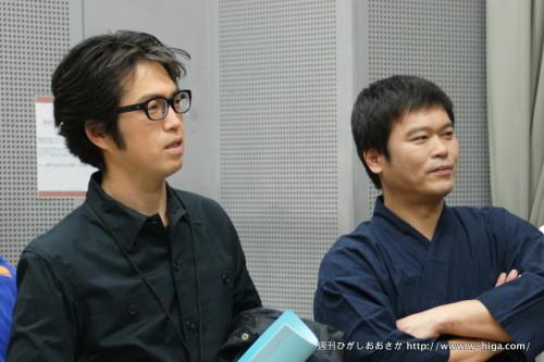 「18年間、演劇以外にやりたいことはなかった」と話す森澤さん(左)