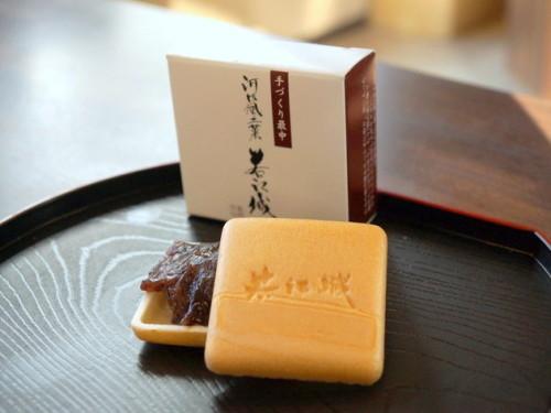 手土産にすると大変喜ばれる若江城(173円)