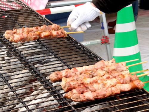 豚ハム(600円)は、柔らかさ、肉質、肉の旨味の三拍子揃った厳選品。