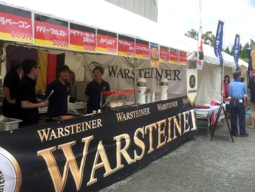 ドイツビール専門コーナーも。大人はこちらで楽しんじゃいましょう。