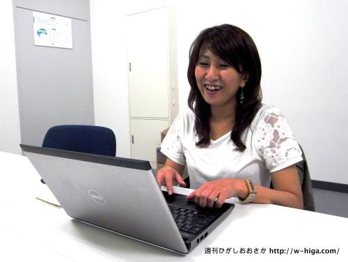 和田京子編集長。終始笑顔で答えてくださいました。