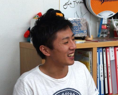 川田大介さん。大東市出身大阪市在住。サラリーマンをされています。