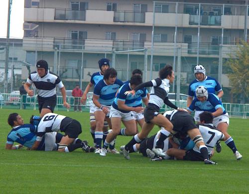樫本選手の勇姿が、少しだけ見られる写真。2009年シーズンです。