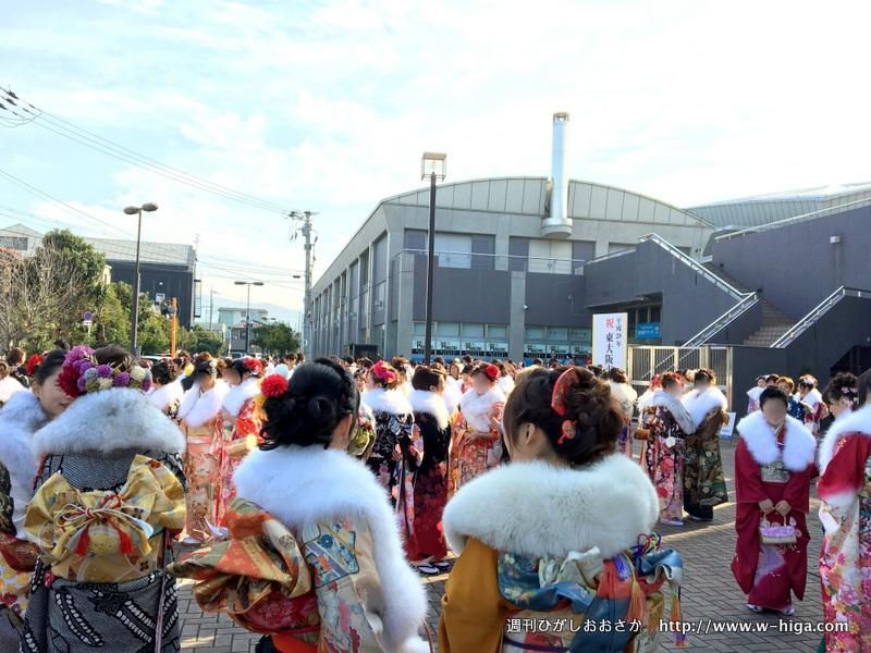 成人祭、今年もアリーナで開催 4900人の新成人が誕生