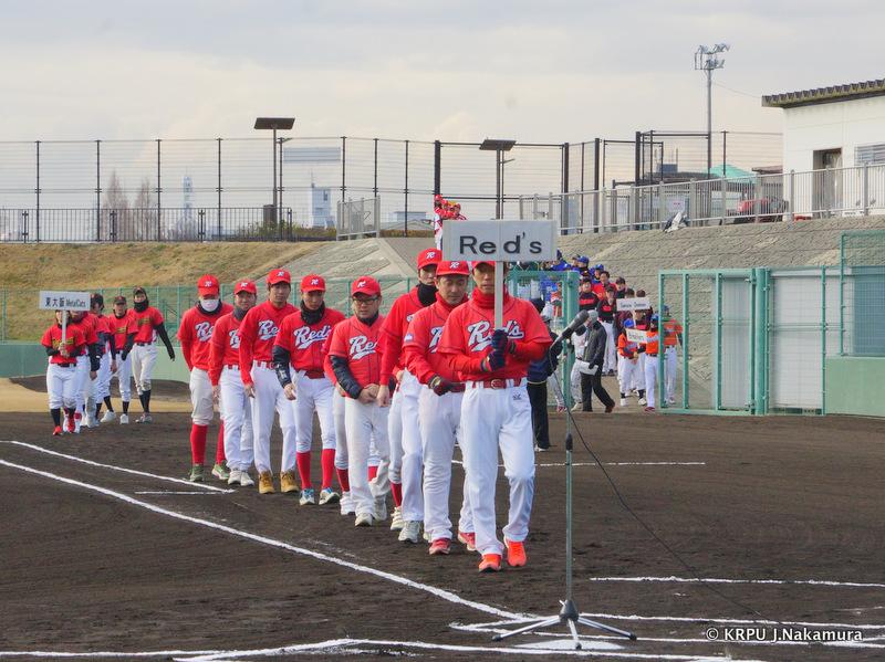 投手陣が若返った、Red'sは要注意です。