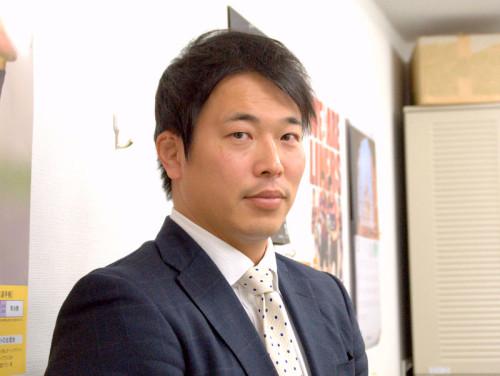 坪井章新監督(関西ラグビーフットボール協会)
