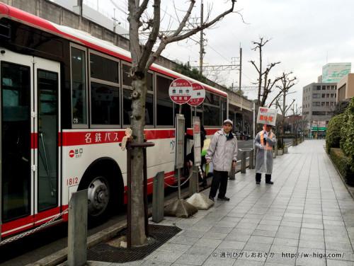 試合の日には、シャトルバスが出ることも。