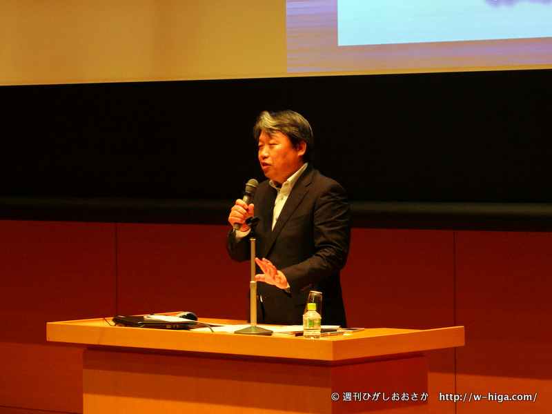 実体験を交えた、リアルな話を披露してくれた森嶋社長。