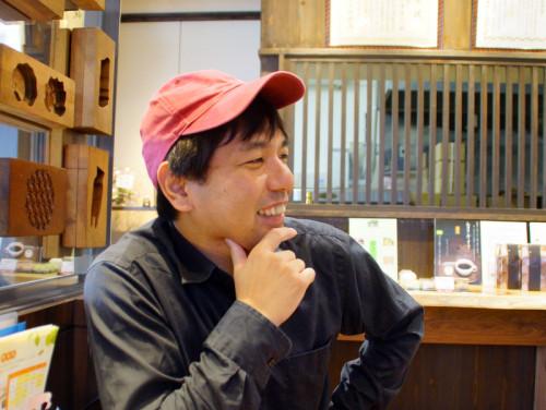 新澤さんは若江中学校出身。バリバリの地元育ちです。