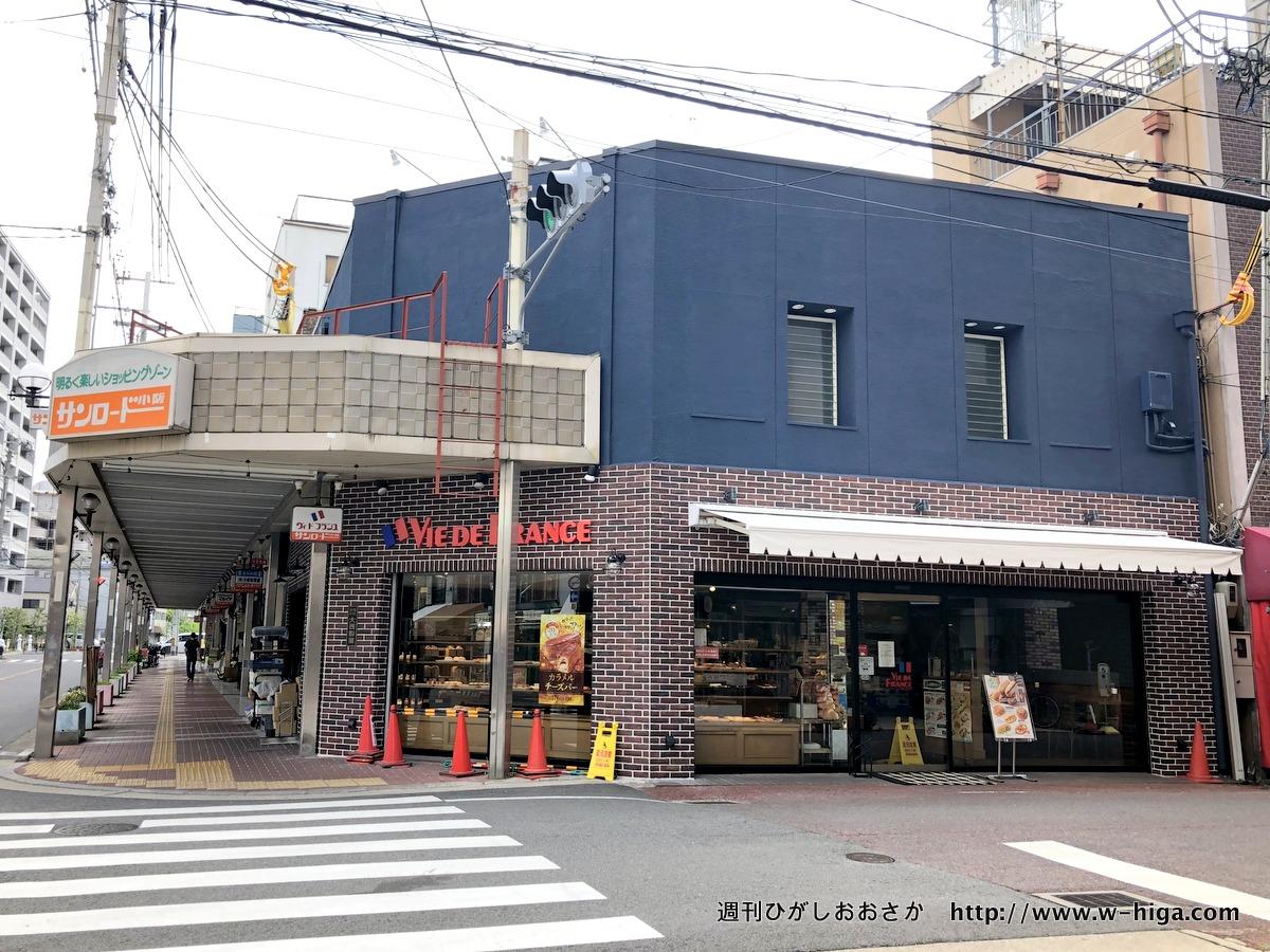 ヴィ・ド・フランス小阪店がリニューアル!東大阪直撃の台風21号から、令和元年に満を持して復活