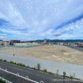 変わる東大阪の街 若江岩田のイズミヤ跡(シティテラス若江岩田予定地)01 広大な敷地が更地になっています。